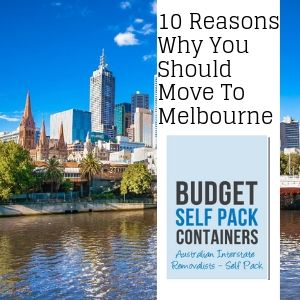 Interstate Removalists Melbourne Blog | Budget Self Pack Containers