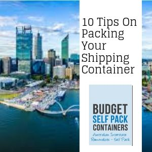 Tips on Packing a Shipping Container | Budget Self Pack Container