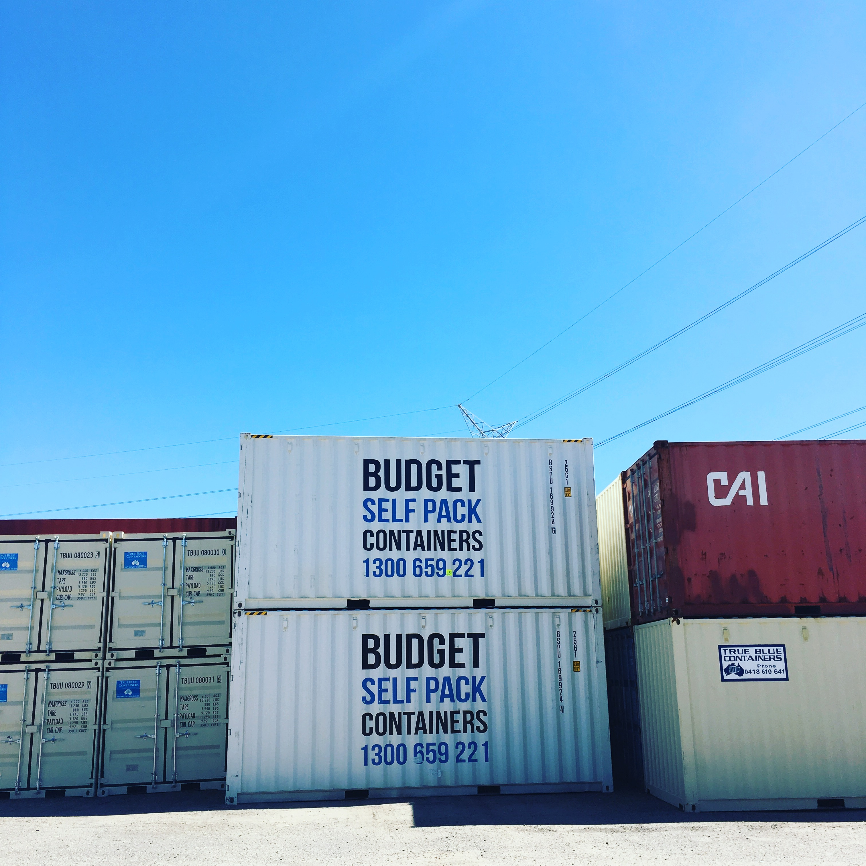 Bunbury Moving Containers | Budget Self Pack Containers