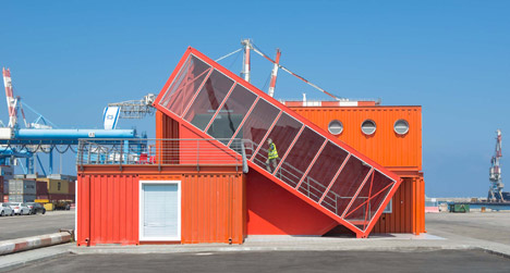 Shipping container architecture - BSPC Removalists