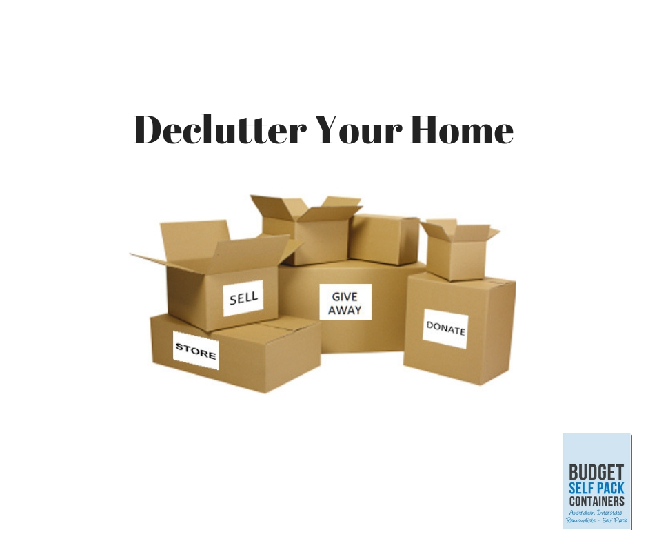 Moving is a great time to declutter | BSPC Removalists