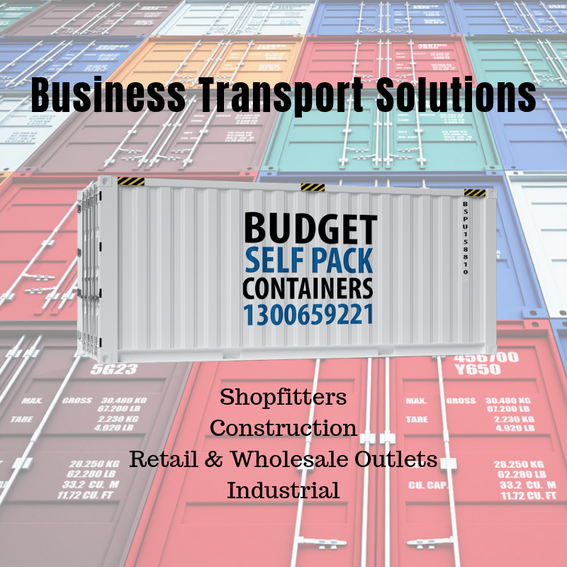 Container Transport & Logistics | Budget Self Pack Containers