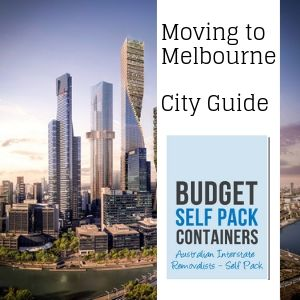 Interstate Removalists Melbourne City Guide | Budget Self Pack Containers