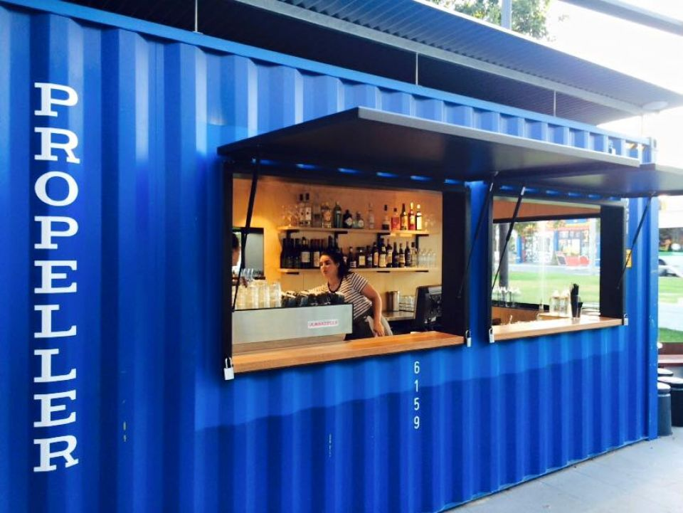 Shipping container restaurant | Budget Self Pack Containers