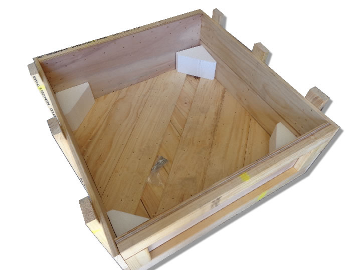 Custom plywood crate - BSPC Removalists
