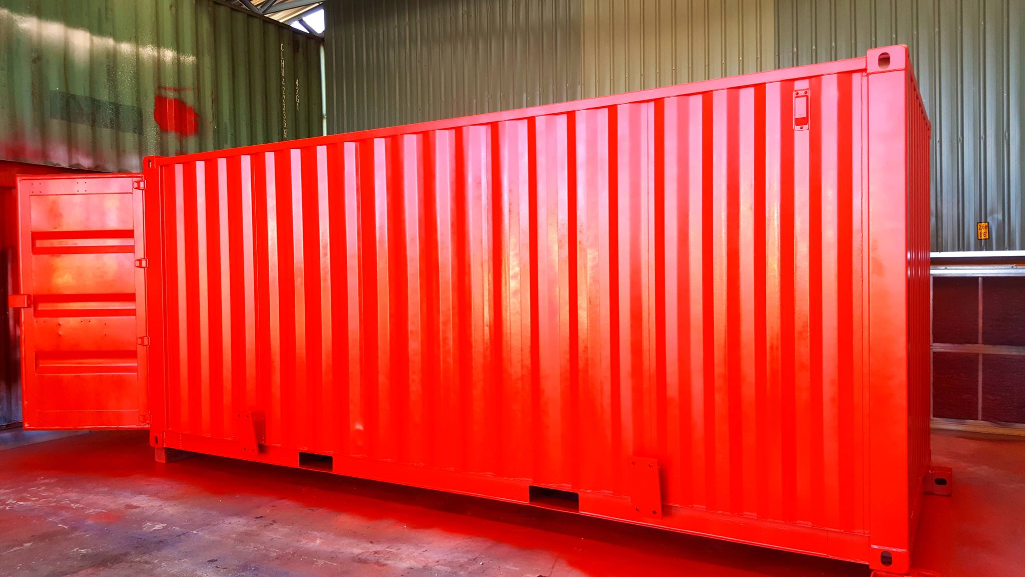 Personalised shipping container - BSPC Removalists