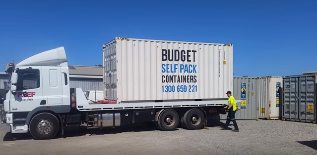 Budget Self Pack Container Removals Moving Interstate