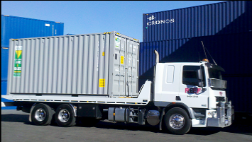 Commercial Transport of Self Pack Containers