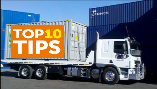 10 Tips For Packing Moving Containers!