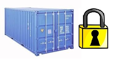 how to pack a moving container