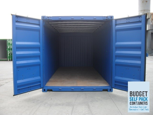 How to best utilise the space in a 20ft moving container