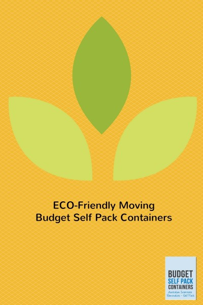 Reducing your carbon footprint when moving house
