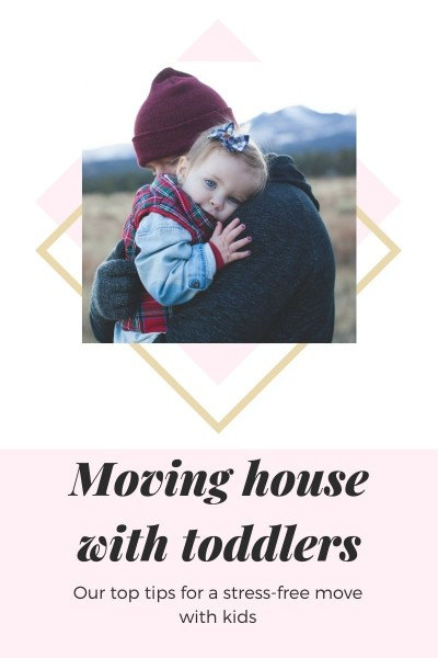 Top 8 Tips For Moving House With Toddlers