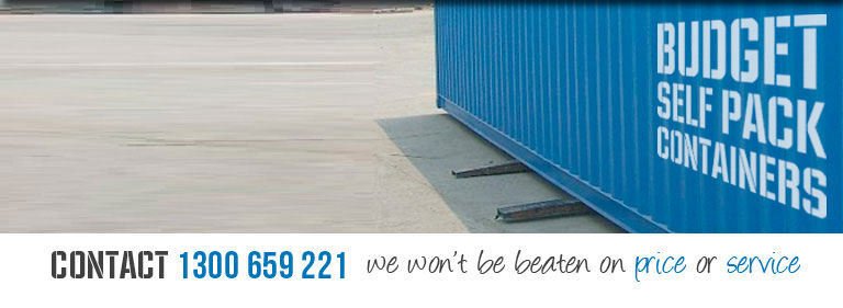 Where Can I Put A Shipping Container Bspc Removalists