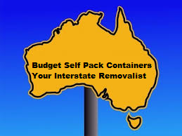 Budget Self Pack Containers - Your Interstate Removalist