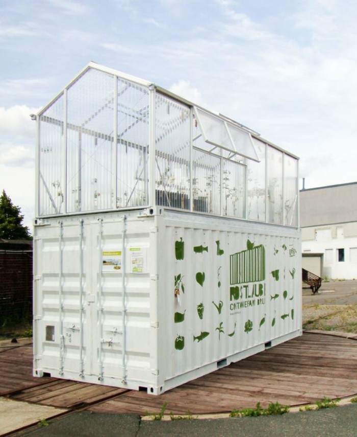 Shipping Container Greenhouse - BSPC Removalists