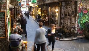 People in Melbourne Laneways - BSPC Removalists