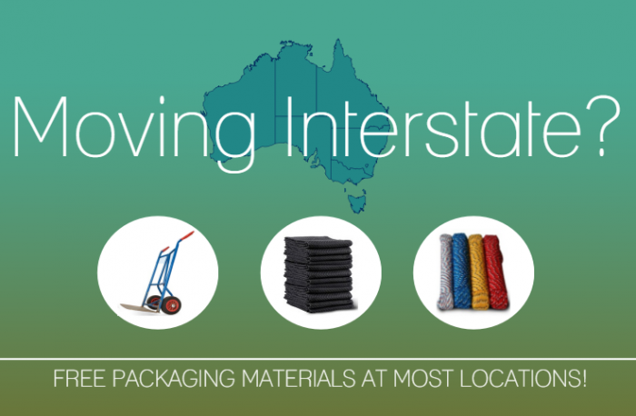 Interstate Removalists - Budget Self Pack Containers