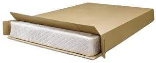 Mattress in box for moving - BSPC Removalists