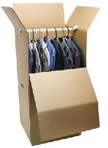 Wardrobe Box - Budget Self Pack Containers