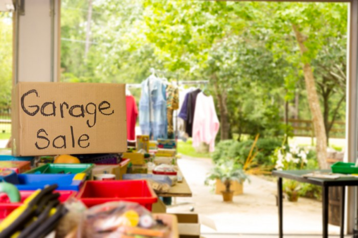 Reduce clutter with a garage sale - BSPC Removalists