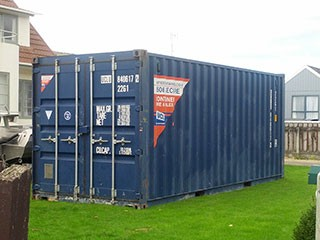 Where Can I Put A Shipping Container? BSPC Removalists